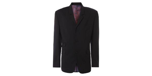 Pánské černé oblekové sako Merc