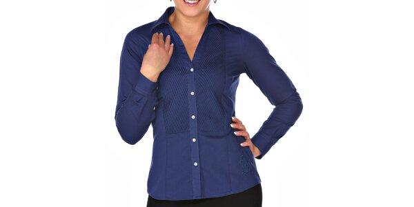 Dámská modrá košile M. Conte