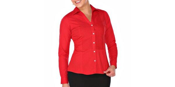 Dámská červená košile M. Conte