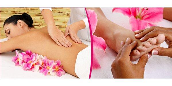 Relaxační a uvolňující masáž