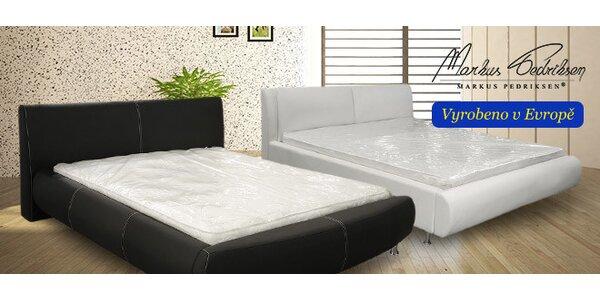 Elegantní čalouněné postele Markus Pedriksen