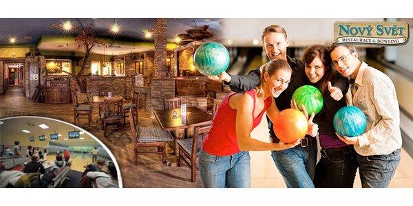 1-2 hodiny bowlingu až pro 6 osob