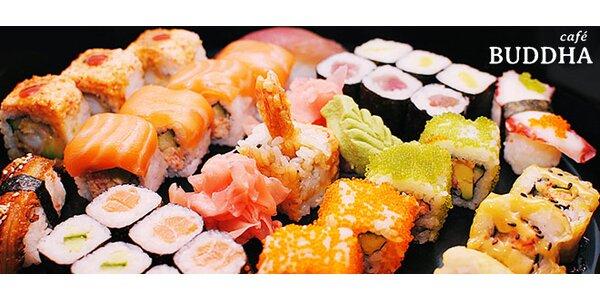 Parádní sushi menu v Café Buddha pro dva