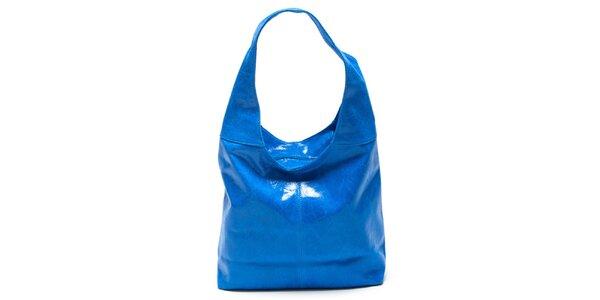 Dámská modrá kabelka s jedním uchem Mangotti