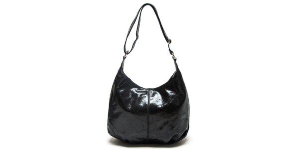 Dámská černá kabelka s nastavitelným popruhem Mangotti