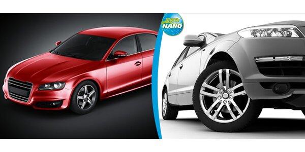 Ruční mytí aut pomocí Nanotechnologie