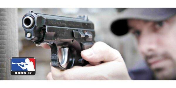 Zbrojní průkaz na zkoušku - teorie i střelba na střelnici