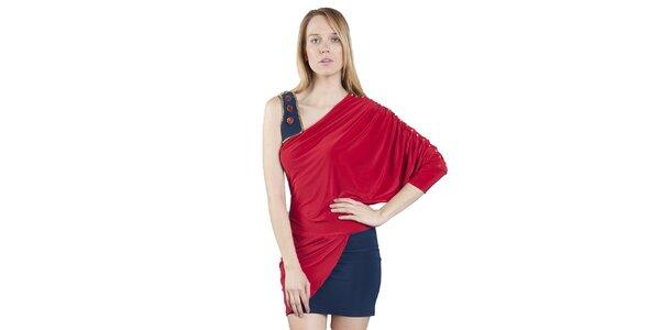 Dámské dvouvrstvé šaty Via Bellucci