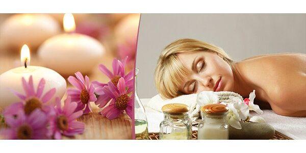 Hodinová relaxační aroma masáž