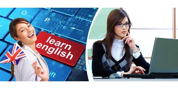 E - learningový kurz AJ zaměřený na zkoušku FCE, přímá komunikace s lektorem