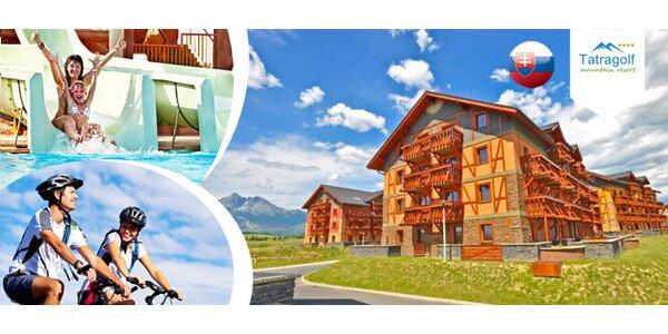 Apartmány ve Vysokých Tatrách pro 2–4 osoby