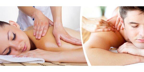 Švédská relaxační masáž s tepelnou terapií - 60 minut