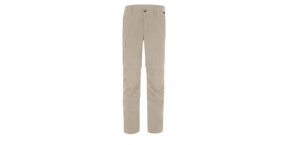 Pánské světle béžové kalhoty Maier s odepínatelnými zipy