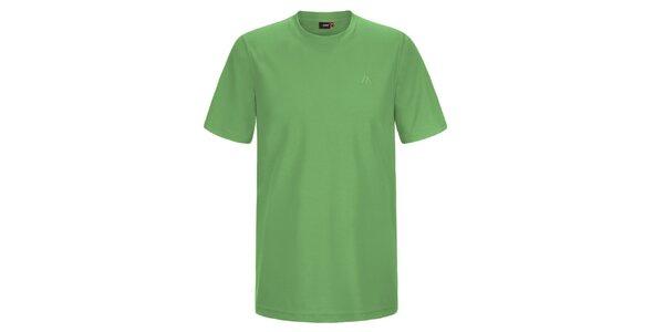 Pánské zelené funkční tričko Maier