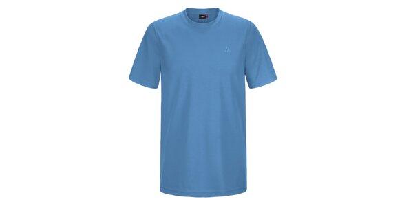 Pánské modré funkční tričko Maier