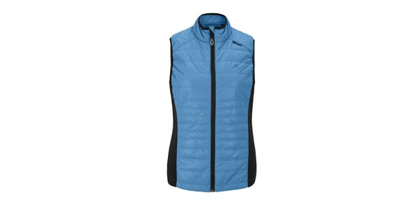 Dámská modrá prošívaná vesta Maier