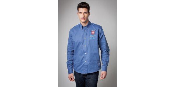 Pánská světle modrá košile Valecuatro