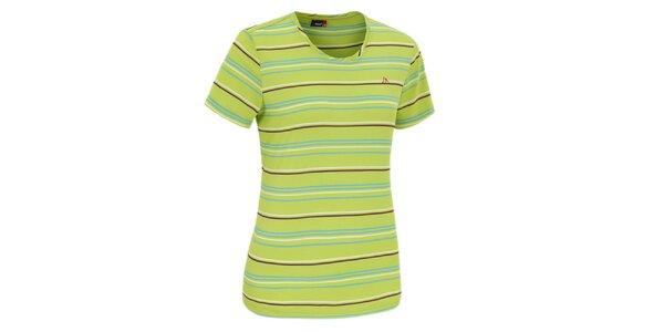 Dámské zelené funkční tričko Maier
