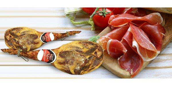 Luxusní sušená šunka v dárkové sadě
