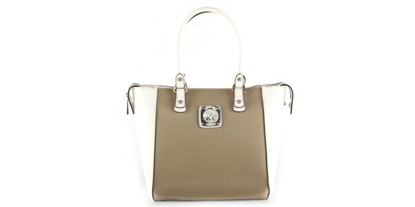 Dámská kabelka s bílými uchy Beverly Hills Polo Club