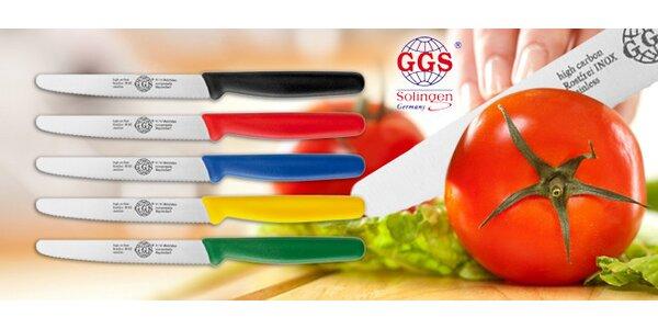 Extra ostré nože GGS Solingen nejen zeleninu