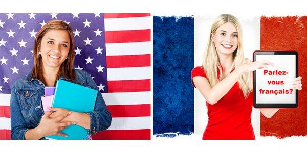 Letní kurzy angličtiny nebo francouzštiny - jen vy a lektor
