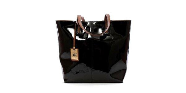 Dámská černá kabelka s vyjímatelnou kapsou Beverly Hills Polo Club