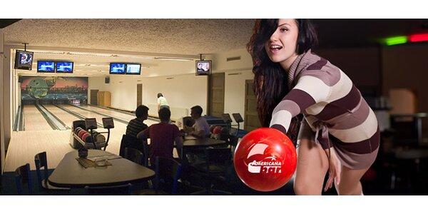 2 hodiny bowlingu na drahách Brunswick
