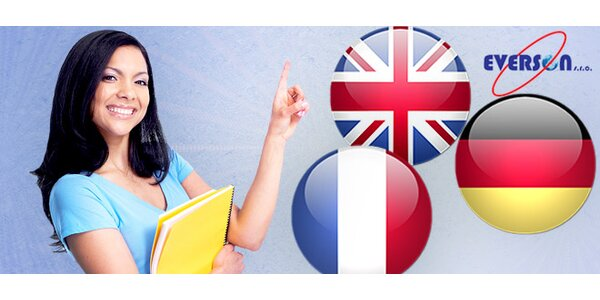 Kurzy angličtiny, němčiny i francouzštiny