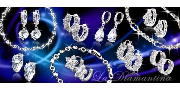Luxusní náušnice a náramky La Diamantina