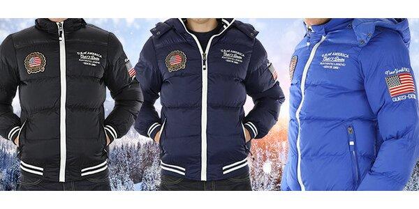 Zimní bundy nebo vesty Brooklyn pro drsné muže