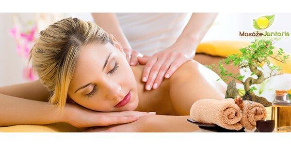 Hodina klasické nebo aromaterapeutické masáže