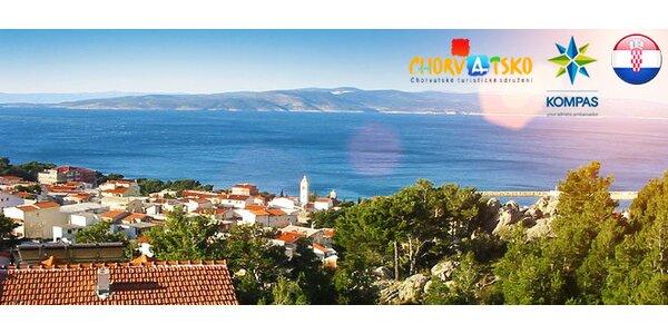 10-denní zájezd do slunného Chorvatska. Na výběr 2 penziony a 2 červnové termíny