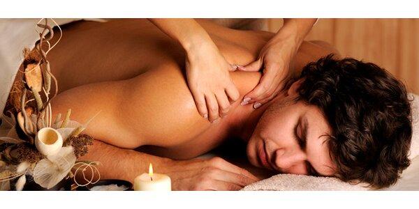 Klasická hodinová relaxační masáž celého těla