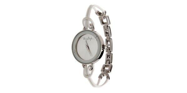Dámské ocelové hodinky Thierry Mugler s kombinovaným řemínkem