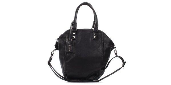 Dámská černá kabelka s pyramidkami Bessie
