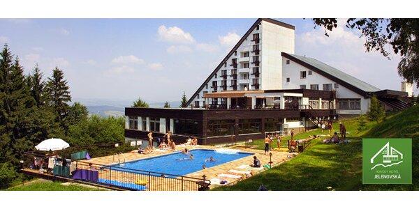 3denní romantický pobyt na Horském hotelu Jelenovská***