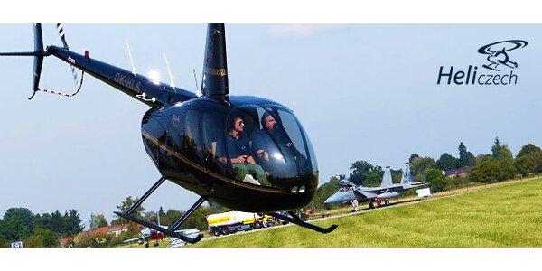 Vyhlídkový let vrtulníkem nad Hradcem Králové