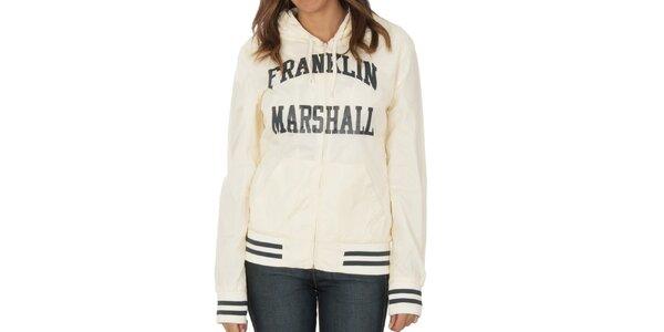 Dámská krémově bílá bundička Franklin & Marshall