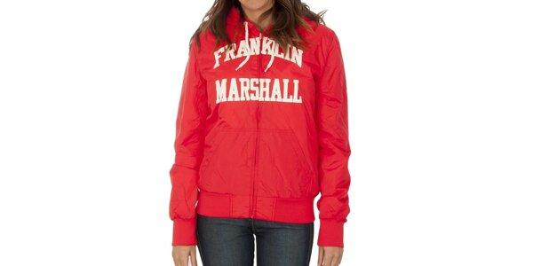 Dámská červená bunda Franklin & Marshall