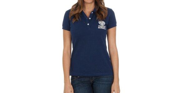 Dámské námořnické polo tričko se značkou Franklin & Marshall