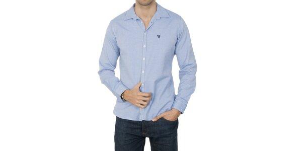 Pánská světle modrá košile Franklin & Marshall