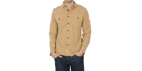 Pánská béžová košile Franklin & Marshall