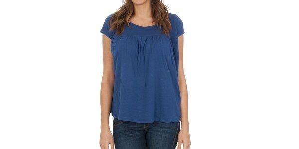Dámské modré halenkové tričko Franklin & Marshall
