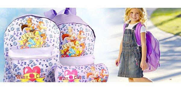 Výprodej! Winx batohy a penál pro malé slečny