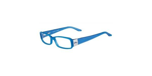 Dámské blankytně modré dioptrické obroučky Ralph Lauren
