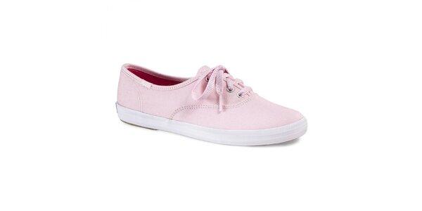 Dámské světle růžové tenisky Keds