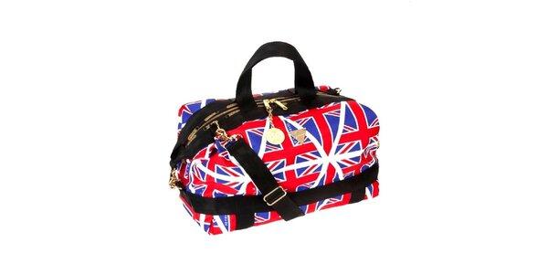 Dámská taška LeSportsac s britskými vlajkami