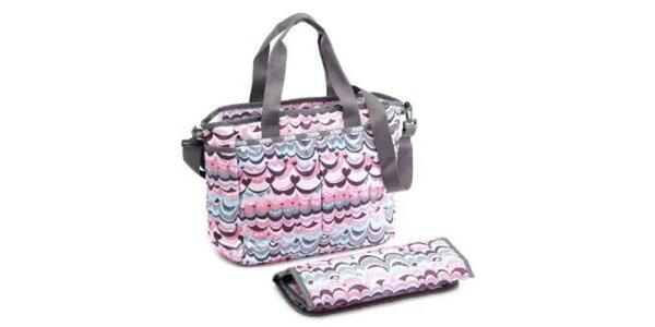 Dámská kabelka LeSportsac s růžovým potiskem