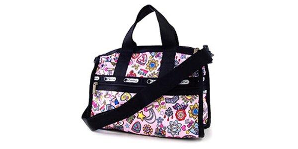 Pestrá víkendová taška LeSportsac